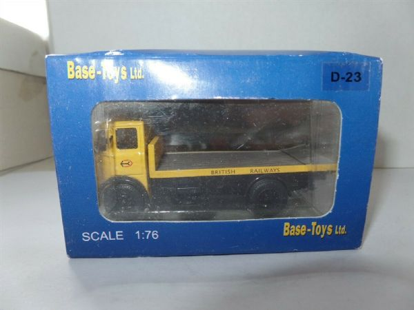 B T Models D-23 D23 Leyland Beaver Arctic  Flatbed British Railways Railfreight